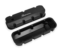 Holley Sniper Fabricated Aluminum Valve Covers 890004B