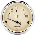AutoMeter Auto Meter Antique Beige Analog Gauges 1827