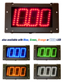 Digital Delay MEGA DIAL V2 2 SINGLE VIEW Black Boards Red Blue Green Orange or White LED Readouts