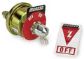 Moroso Battery Disconnect Switch with Decal 20 Amp Rating 74100