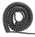 Shinoid Switch Coil Cord Black 2 wire 18 gauge Extends to 6 ft SW9000