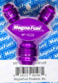 MagnaFuel Y Fitting, Y Block, Two -8 AN, One -12 AN MP-6228