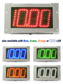 Digital Delay MEGA DIAL V2 CHROME DUAL VIEW Board Red Blue Green Orange or White LED Readouts 1060-C LED COLOR-DV