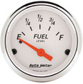 AutoMeter Auto Meter Arctic White Analog Gauges 1318
