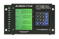 Digital Delay Mega 475 Delay Box Mega Dial Controller DUAL VIEW CHROME Board 1095BG-C-LED COLOR-DV (BLACK CASE with GREEN DISPLAY)