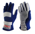 G-FORCE GF G1 RaceGrip Gloves BLUE LARGE 4100LBL 4100LRGBU