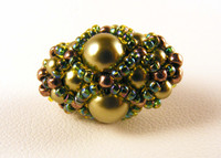 Pearl Blossom Beaded Bead