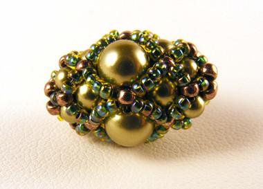 Pearl Blossom Beaded Bead
