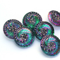 18mm Swirl Button