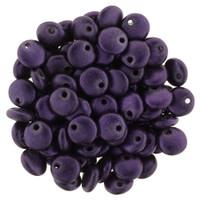 6mm Lentil - Chrome Purple