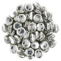 6mm Lentil - Silver
