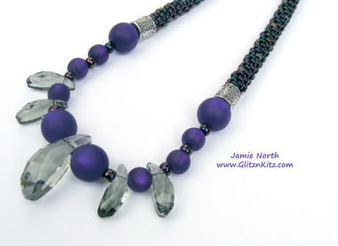 Black Diamond + Purple