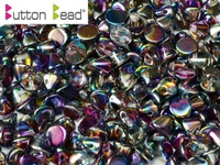 Button Beads - Crystal Magic Blue