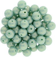 6mm Top Drilled Sueded Rounds