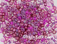 Precious Pinks - Sz 8 Seed Bead Mix