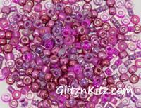 Precious Pinks - Sz 8 Seed Bead Mix