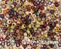 Picasso Cobblestone - Sz 8 Seed Bead Mix