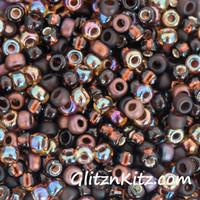 Rootbeer Ruckus - Sz 8 Seed Bead Mix