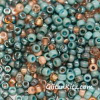 Sand & Sea - Sz 8 Seed Bead Mix