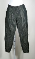 ALLSAINTS SPITALFIELDS Black Metallic Skinny Leg Pant Size 6