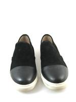 STEVE MADDEN Black Slip On Suede Leather Sneaker Size 9.5