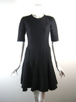 RAG & BONE Black Eyelet 3/4 Sleeve Cocktail Dress Size 6