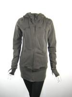 LULULEMON Brown Zip Front Athletic Yoga Workout Jacket Size 6 Medium