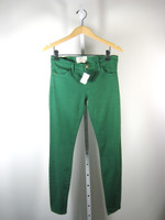 CURRENT/ELLIOTT NEW Green Pine Ankle Skinny Leg Pant Jeans Size 27