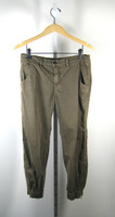 J BRAND Army Green Earhart Elastic Ankle Pilot Pant Size 26