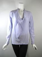 MARC JACOBS Light Purple Neck Tie Silk Blouse Size 2