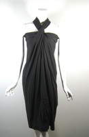 MARC JACOBS Gray Wool Sleeveless Dress Size 2