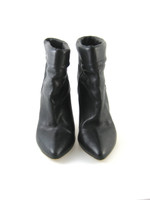 LOEFFLER RANDALL Black Leather Ankle Bootie Size 8