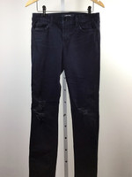 J BRAND Dark Wash Distressed Skinny Jean Size 29