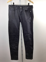 WILLIAM RAST Washed Out Black Skinny Leg Jean Size 28