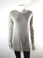 BB DAKOTA Oatmeal Long Sleeve Tunic Sweater Size Medium