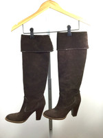 MICHAEL KORS Brown Suede Knee High Boots Size 7
