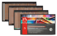 CARAN d'ACHE LUMINANCE 6901® - 76 colour assortment + 2 Full Blender
