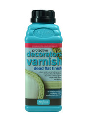 Polyvine Decorators Varnish - Dead Flat Finish