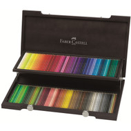 Faber Castell Polychromos Pencil Set - Wooden Box of 120