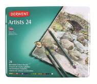 Derwent Artists Pencil Set - Tin of 24