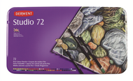 Derwent Studio Pencil Set - Tin of 72
