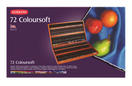Derwent Coloursoft Pencil Set - Wooden Box of 72