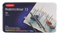 Derwent Watercolour Pencil Set - Tin of 72
