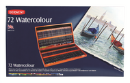 Derwent Watercolour Pencil Set - Wooden Box of 72