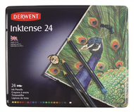 Derwent Inktense Pencil Set - Tin of 24