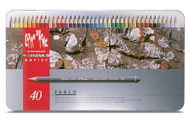 CARAN d'ACHE PABLO® Colouring Pencil Set - Tin of 40
