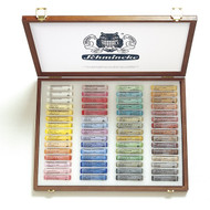 Schmincke Soft Pastel Set - Wooden Box of 60