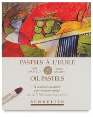 Sennelier Oil Pastel Set - 24 Still Life
