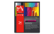 Caran d'Ache Neopastel Oil Pastels - Set of 24