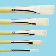 Pro Arte Series B Hog Brushes Long Flat